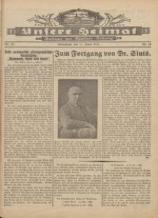 Unsere Heimat. Beilage zur Kösliner Zeitung Nr. 14/1931