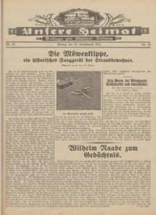 Unsere Heimat. Beilage zur Kösliner Zeitung Nr. 19/1931