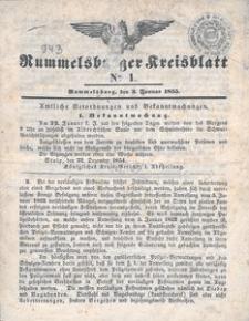 Rummelsburger Kreisblatt 1855