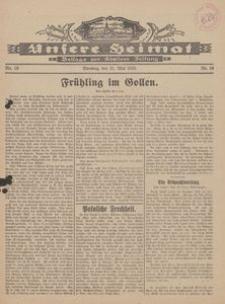 Unsere Heimat. Beilage zur Kösliner Zeitung Nr. 10/1929