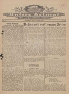 Unsere Heimat. Beilage zur Kösliner Zeitung Nr. 16/1929