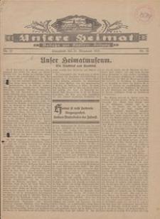 Unsere Heimat. Beilage zur Kösliner Zeitung Nr. 22/1929