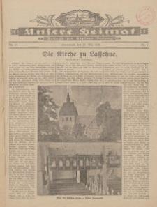 Unsere Heimat. Beilage zur Kösliner Zeitung Nr. 11/1928