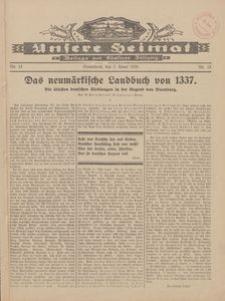 Unsere Heimat. Beilage zur Kösliner Zeitung Nr. 15/1928