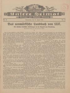 Unsere Heimat. Beilage zur Kösliner Zeitung Nr. 16/1928