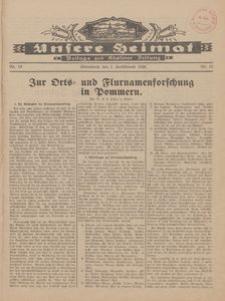 Unsere Heimat. Beilage zur Kösliner Zeitung Nr. 19/1928