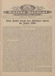 Unsere Heimat. Beilage zur Kösliner Zeitung Nr. 24/1928
