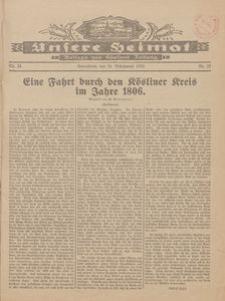 Unsere Heimat. Beilage zur Kösliner Zeitung Nr. 25/1928