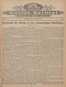 Unsere Heimat. Beilage zur Kösliner Zeitung Nr. 5/1926