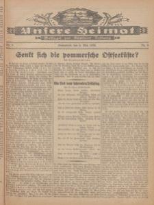 Unsere Heimat. Beilage zur Kösliner Zeitung Nr. 9/1926