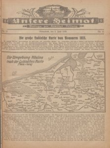 Unsere Heimat. Beilage zur Kösliner Zeitung Nr. 11/1926