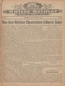 Unsere Heimat. Beilage zur Kösliner Zeitung Nr. 19/1926