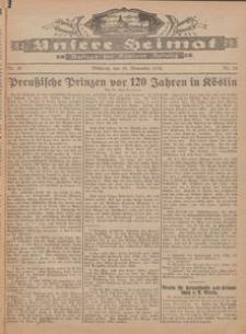 Unsere Heimat. Beilage zur Kösliner Zeitung Nr. 20/1926