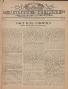Unsere Heimat. Beilage zur Kösliner Zeitung Nr. 21/1926