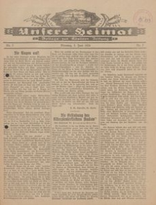 Unsere Heimat. Beilage zur Kösliner Zeitung Nr. 7/1924
