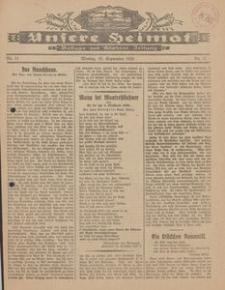 Unsere Heimat. Beilage zur Kösliner Zeitung Nr. 11/1924