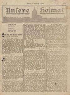Unsere Heimat. Beilage zur Kösliner Zeitung Nr. 11/1923