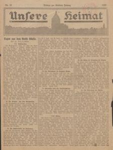 Unsere Heimat. Beilage zur Kösliner Zeitung Nr. 12/1923