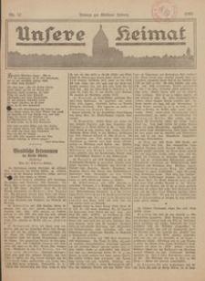 Unsere Heimat. Beilage zur Kösliner Zeitung Nr. 12/1922