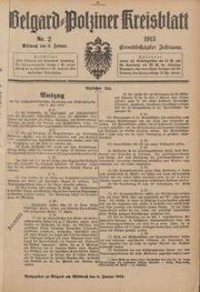 Belgard-Polziner Kreisblatt, 1913, Nr 2