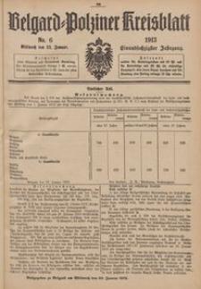 Belgard-Polziner Kreisblatt, 1913, Nr 6