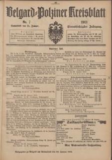 Belgard-Polziner Kreisblatt, 1913, Nr 7