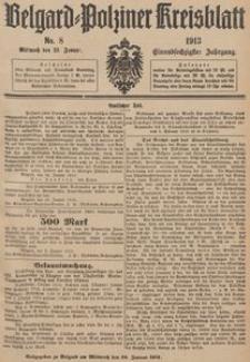Belgard-Polziner Kreisblatt, 1913, Nr 8