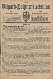 Belgard-Polziner Kreisblatt, 1913, Nr 11