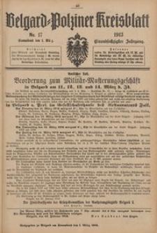 Belgard-Polziner Kreisblatt, 1913, Nr 17