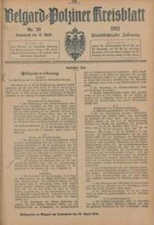 Belgard-Polziner Kreisblatt, 1913, Nr 30