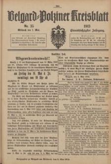 Belgard-Polziner Kreisblatt, 1913, Nr 35