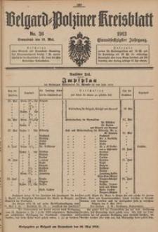 Belgard-Polziner Kreisblatt, 1913, Nr 36