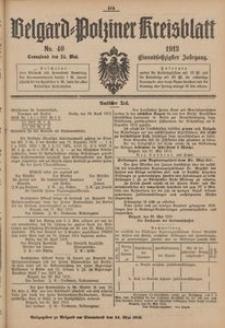 Belgard-Polziner Kreisblatt, 1913, Nr 40