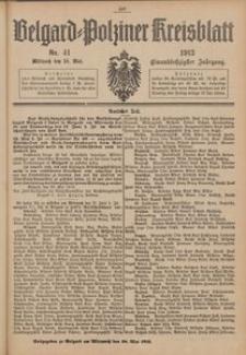 Belgard-Polziner Kreisblatt, 1913, Nr 41