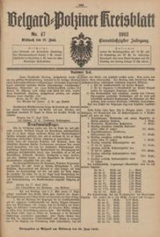 Belgard-Polziner Kreisblatt, 1913, Nr 47