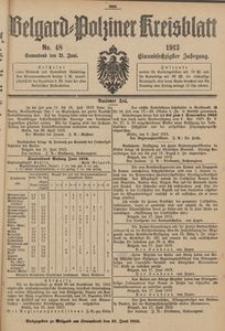 Belgard-Polziner Kreisblatt, 1913, Nr 48