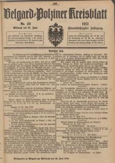 Belgard-Polziner Kreisblatt, 1913, Nr 49