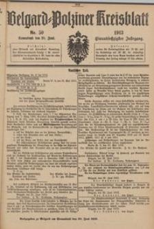 Belgard-Polziner Kreisblatt, 1913, Nr 50