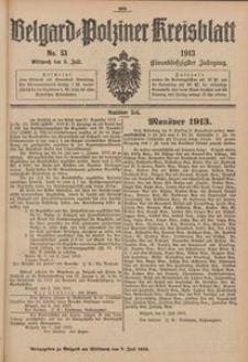 Belgard-Polziner Kreisblatt, 1913, Nr 53