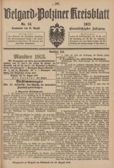 Belgard-Polziner Kreisblatt, 1913, Nr 64