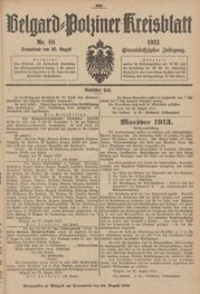 Belgard-Polziner Kreisblatt, 1913, Nr 68