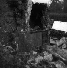 Komin w chałupie XIX-wiecznej małorolnego chłopa - Borsk