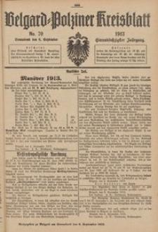 Belgard-Polziner Kreisblatt, 1913, Nr 70
