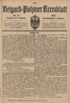 Belgard-Polziner Kreisblatt, 1913, Nr 76