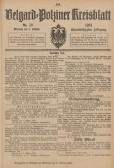 Belgard-Polziner Kreisblatt, 1913, Nr 79
