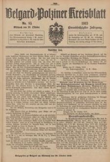 Belgard-Polziner Kreisblatt, 1913, Nr 85