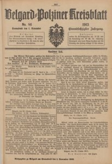 Belgard-Polziner Kreisblatt, 1913, Nr 86