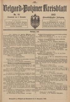 Belgard-Polziner Kreisblatt, 1913, Nr 88