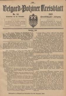 Belgard-Polziner Kreisblatt, 1913, Nr 94