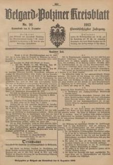 Belgard-Polziner Kreisblatt, 1913, Nr 96